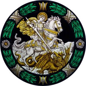 Logo de Claude THORAVAL Atelier de vitrail